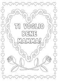 40 Disegni Per La Festa Della Mamma Da Colorare Feste E Ricorrenze