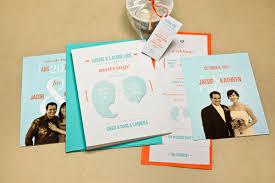 orange and turquoise wedding invitations. teal + orange wedding suite and turquoise invitations