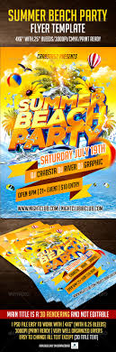 Summer Beach Party Flyer Template By Crabsta52 | Graphicriver