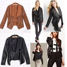 spring leather jackets for women