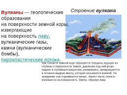 класс реферат о вулканах Природоведение 5 класс реферат о вулканах