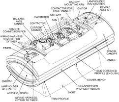 ets Tanning Bed Ballast Wiring Diagram Ergoline Tanning Beds