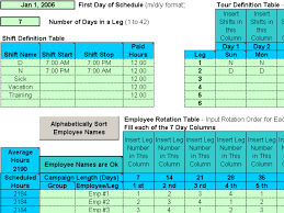 Rotating Shift Schedules For Your People 5 12 Download
