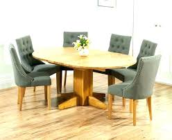 glass round dining table 6 round glass dining table oak