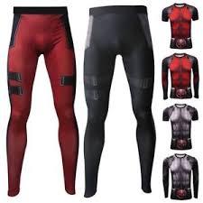 image is loading 3d deadpool mens pression t shirt long leggings