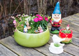 outdoor fairy garden. diy planter fairy garden - for indoor or outdoor use that the kids can help create
