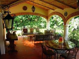 spanish style outdoor furniture. Spanish Style Patio Ideas Charming Outdoor Furniture Stylish And Peaceful Decorating Living Room I