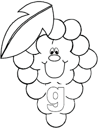 Grapes Coloring Page Grapes Coloring Page Grapes Coloring Sheet
