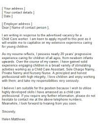 Care Assistant Cover Letter Examples