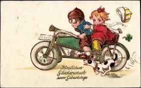 Glückwünsche Zum Geburtstag Motorrad Unbenanntes Lustige