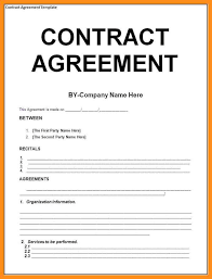 Template Of A Contract Between Two Parties 9 Sample Agreement Between Two Parties Agenda Example Agreement