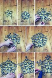 How to Make an Intricate Christmas Star from Toilet Paper Roll
