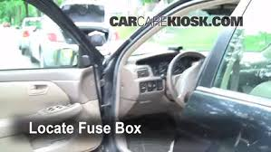interior fuse box location toyota camry toyota interior fuse box location 1997 2001 toyota camry