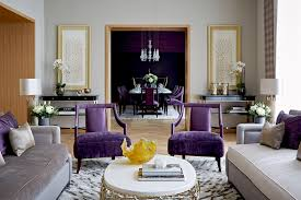 luxury bedroom furniture purple elements. Sophie Howard Living Room Design Ideas Luxury Bedroom Furniture Purple Elements F