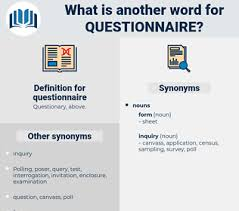Another Word For Questionnaire Synonyms For Questionnaire Thesaurus Net
