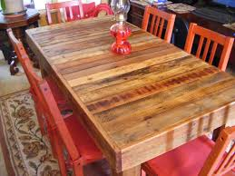 red wood dining chairs. Divine Rustic Dining Room Decoration Using Red Glass Flower Vase Centerpiece Including Wood Chair And Rectangular Reclaimed Chairs