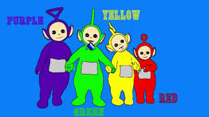 Small Picture Teletubbies Coloring Pages For Learning Colors all Teletubbies