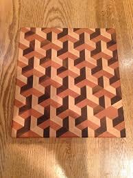 3d end grain cutting board plans. 3 dimensional end grain cutting board by terryswoodworking on etsy 3d plans n