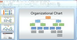 Organization Chart Template Ppt Free Danielmelo Info