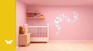 Small Picture Asian Paints Wall Stories Butterfly DIY Stencil Kit White L152