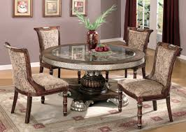 Dinning Room Table Set Round Glass Dining Table Set For 4 Kitchen Table Chairs 5 Piece