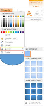 Add A Gradient Color To A Shape Office Support