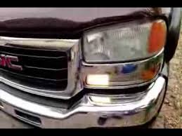 2006 Chevy Silverado Bulb Chart How To Change Day Time Running Light Bulb Silverado Sierra Tahoe Yukon Suburban 99 06
