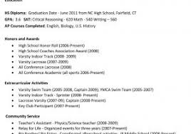 High School Resume Samples For College Admissions Download Now Ideas ...