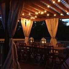 pergola lighting ideas. festune lighting is easy and perfect for a pergola ideas n