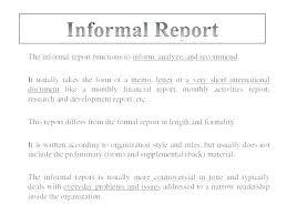 Short Business Report Sample Sample Formal Business Report Sociallawbook Co