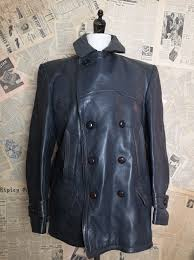 vintage german leather jacket