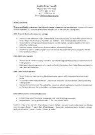 Sample Resume For Back Office Executive Formidable Sample Resume
