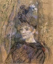 portrait of suzanne valadon by henri de toulouse lautrec