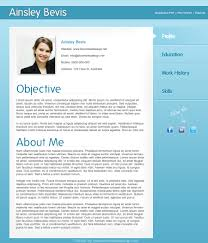 Free Resume Templates Template Photoshop Graphic Designer With