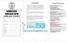 Soal fisika kelas 10 11 12 semester 1 2 kurikulum 2013 terbaru doc untuk uas uts ukk intro pendidikan. Administrasi Guru Kelas Untuk Sd Mi Format Lengkap Blog Edukasi Cute766