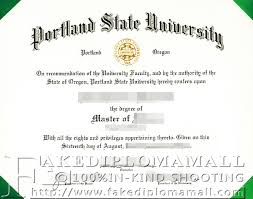 master degree from portland state university buy degree buy  portland state university degree diploma of portland state university psu diploma
