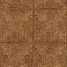 faux kitchen tile wallpaper. embossed textured copper faux ceiling tile heavy duty wallpaper kitchen s