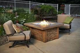 gas fire pit table unique durable design sierra square fire pit table by the outdoor company gas fire pit table