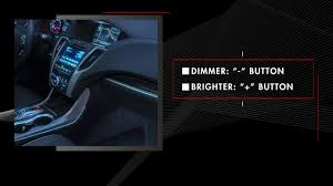 2019 Acura Rdx Puddle Lights Acura Tlx Ambient Accent Lighting