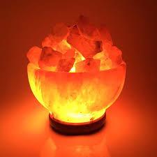 himalayan salt crystal lamp bowl