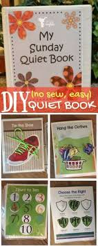 diy no sew easy quiet book free printable adorable educational book for quiet time like during church