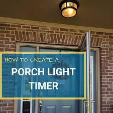 porch light timer