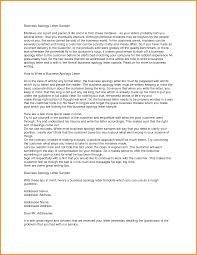 3 Formal Apology Letter Cook Resume