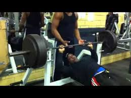 Iron Mike 385 Bench Press  YouTubeEvander Holyfield Bench Press
