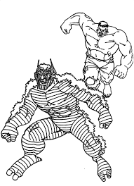 Scary MONSTER Colouring Pages - Clip Art Library