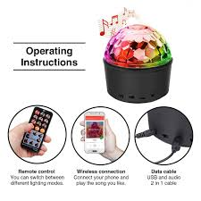 Baby When The Lights Go Out Mp3 Hocossy Portable Led Disco Ball Night Lamp Mp3 Music Bluetooth Speaker 9colors 3 Modes Dance Rgb Hall Strobe Light Mini Usb Led Stage Light