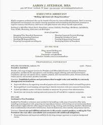10 Executive Assistant Resume Samples Rustictavernlafayette