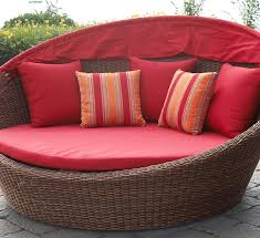 Wooden outdoor daybed Modern Outdoor Cane Rattan Daybed Thebestwoodfurniturecom Wooden Outdoor Daybed For Summer Pastime Thebestwoodfurniturecom