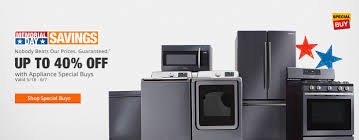 Kitchen Appliances On Credit Appliances The Home Depot
