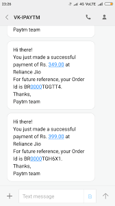 Unauthorised Consumer Transaction Paytm From Complaints Court -